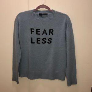 360 cashmere Fearless cashmere crewneck Xs